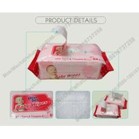 Private Label Anti-bacterial Flushable Organic Baby wet wipes