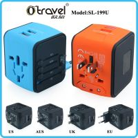 OTRAVEL 2017 the latest SL-199U universal travel adapter dual usb 5V 2400mA
