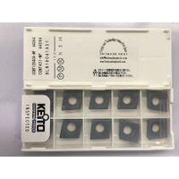 Carbide inserts CCMT120404-MF