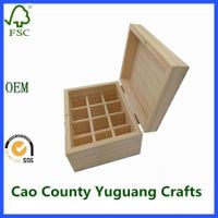 Wooden Essential Oil Box Perfume Packaging Box