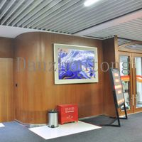 highly emulated ceramic painting for office decoration