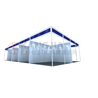 protable aluminum exhibition stand for fairs