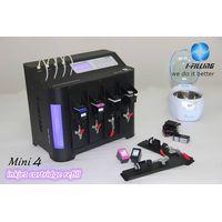 Intelligent printer cartridge refilling machine/ink refill kit
