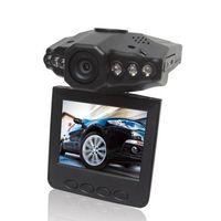 IR Night Vision car DVR with 270degree swivel screen