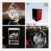 New Personalized 3D Photo Crystal Laser Engraving Machine