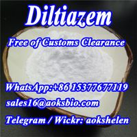 Diltiazem Powder,Diltiazem hcl CAS 33286-22-5 China factory supplier