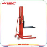 Factory Price Professional forklift semi hydraulic pallet stacker thumbnail image