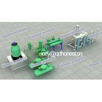 waste oil distillation machine/pyrolysis oil distillation machine