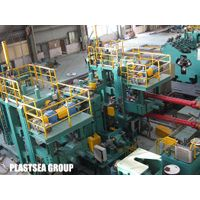 Spiral welding pipe mill