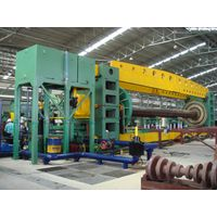 Hydrostatic Test Machine on Spiral Welded Steel Pipe