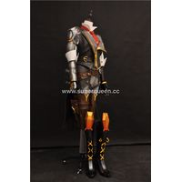 Amazing woman wearing overwatch Ashe cosplay costume suits thumbnail image