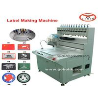 Plastic Dispensing Machinery for PVC Key Chain