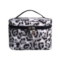 Double Zipper Travel Cosmetic Bag SRC16126B