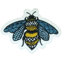 EMB025 embroidered patch, embroidery patch, embroidered badge emblem, embroidery badge emblem thumbnail image