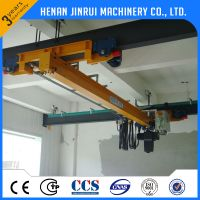 LDX model hanging on workshop beam traveling crane