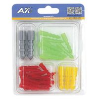 30PCS Assorted Plastic Anchor Kit