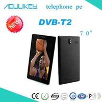 DVB-T2 tablet pc,DVB-T2 computer,L&Y 7inch 3G telephone tablet,Thailand HD digital television tablet