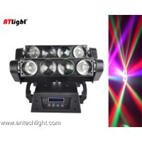 8x10W RGBW 4 in 1 LED Moving Head Spider Hand in Hand