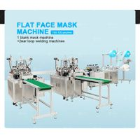 Quick Delivery Factory Direct Automatic Plane Mask Chipping One Drag Two Plane Mask Machine thumbnail image