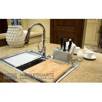 Golden Beach Quartz Kitchen Countertop