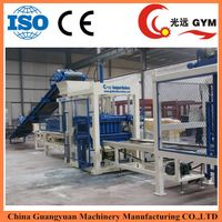 Factory supply directly full automatic color paver brick making machineGYM-QT6