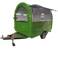 New Designed Multifunctional Street Food Van / Mobile Food Trailer / Food Truck