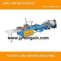 Multifunctional hot sealing hot cutting bag making machine