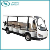 CE Electric Sightseeing Tourist Coach Shuttle Bus with Gearbox and Power-Assisted Steering (LQY145BN