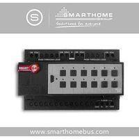 Home Lighting Control Relay Module 4ch 20Amp /ch DIN-Rail Mount (G4) thumbnail image