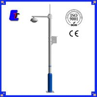 Galvanized Spray paint Steel Monitor pole