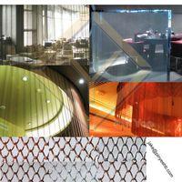 colored interior decorative Coil mesh curtain/drapery