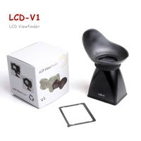 V1 2.8X LCD Viewfinder View Finder Magnifier Extender Hood for Canon 5DII 7D 500D DSLR