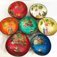 Lacquer shell bowls thumbnail image