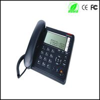 desk fixed large lcd telephone super lcd corded telephone