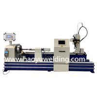 Automatic welding hydraulic cylinder on rod end hydraulic cylinder end cap welding machine thumbnail image