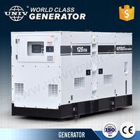 Denyo soundproof diesel generator set
