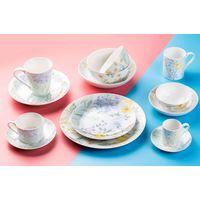 Porcelain tableware set fine bone china with flower