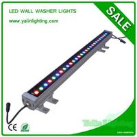 RGB LED wall washer lighting, outdoor IP65 square lights, waterproof light bar thumbnail image