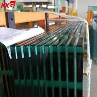 China Buildng Glass Factory supply 4-19mm Cut to Size safety Tempered Glass Price thumbnail image