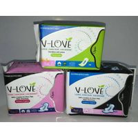 agency for V-LOVE Nano silver anion and far infrared sanitary napkin