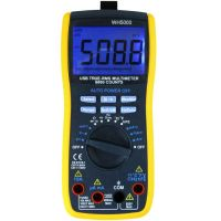 TRUE-RMS Digital Multimeter with USB interface with CE Certification WH5000