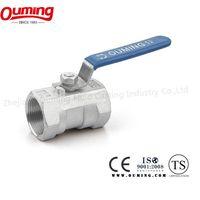 Stainless steel screw ball valve