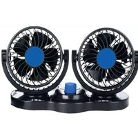 6 inch 12 volt car fan for cars and trucks thumbnail image