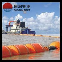 leak free hdpe dredge pipe with floater for the marine and hydraulic dredging industries