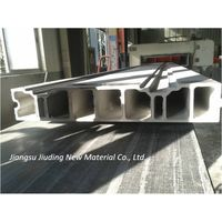 Fire Resistant Insulated Fiberglass FRP Pultrusion Profiles