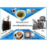 green pyramid tea bag packaging machine thumbnail image