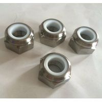 Titanium Alloy Self-Locking Nylon Hexagon Nut - DIN985 6al4V Grade 5 thumbnail image