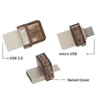 OTG USB Flash Drives for Smartphone, Customized Shape/Logo/Packing, High Speed, 128MB to 128GB