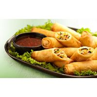 Fresh spring roll/ Spring roll wrappers/ Ricepaper spring rolls thumbnail image