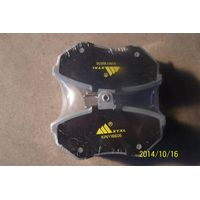 Chinese Manufacturer Supply Customizable Quality Auto Brake Pad